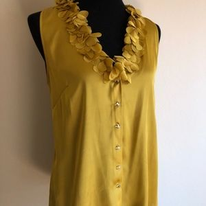 Ann Taylor Fancy Silk Blouse